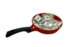 Hot money Royalty Free Stock Image