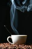 Hot morning coffee Stock Photos