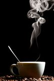 Hot morning coffee Royalty Free Stock Images