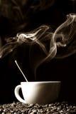 Hot morning coffee Stock Photo