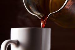 Hot morning coffee Royalty Free Stock Photo