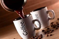 Hot morning coffee Royalty Free Stock Photos