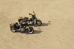 Hot Motorcycles Stock Image