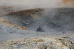 Hot mud Royalty Free Stock Image