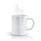 Hot mug vector illustration
