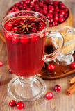 Hot mulled wine Stock Photography
