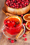 Hot mulled wine Stock Photos
