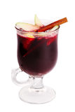 Hot mulled wine isolated Stock Photography