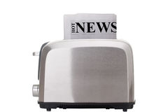 Hot News Stock Photo