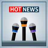 Hot news Stock Images