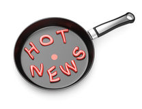 Hot news concept Royalty Free Stock Photography