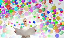 Hot news. Concept image Royalty Free Stock Images