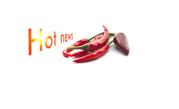 Hot news Royalty Free Stock Images