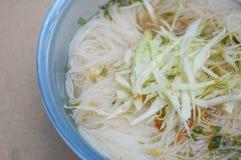 Hot noodle Stock Photos