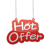 Hot offer background Royalty Free Stock Images