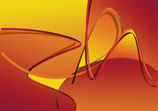 Hot Orange abstract background Royalty Free Stock Images
