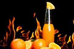 Hot orange drink Royalty Free Stock Photo