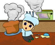 Hot from oven Stock Photos