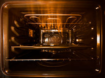 Hot oven Royalty Free Stock Image