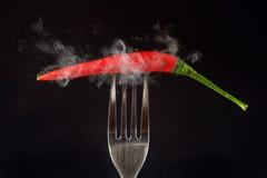 Hot Paprika, Fire Paprika, Smoke Grill Paprika, Hot Chili Pepper Paprika Royalty Free Stock Photo