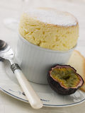 Hot Passion Fruit Souffle Stock Images