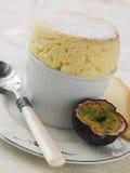 Hot Passion Fruit Souffle Stock Images