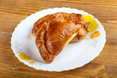 Hot pastry Stock Images