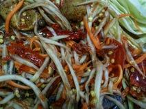 payaya salad royalty free stock photos