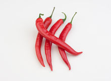 Hot pepper. Added to various dishes Stock Photo