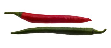 Hot pepper Royalty Free Stock Photos