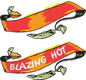 Hot Pepper Banner Stock Images