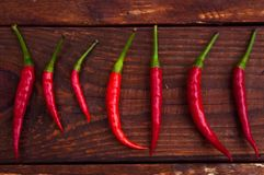 Burning subjects. Hot pepper and matches red, hot, fresh, ingredient, pepper royalty free stock photography