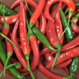 Hot pepper sheals Royalty Free Stock Photos