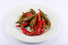 Hot Peppers Royalty Free Stock Photo