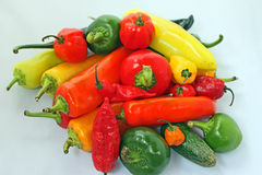 Hot Peppers Stock Photos