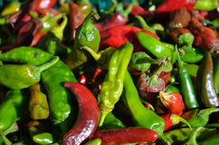 Hot Peppers Royalty Free Stock Photography