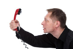 The hot phone Stock Photography