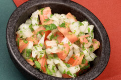 Hot pico de gallo Stock Photography