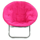 Hot Pink Chair Over White Royalty Free Stock Photos