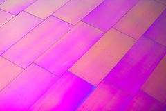 Hot pink diagonal rectangular shapes Royalty Free Stock Photo