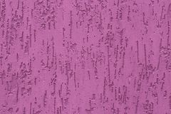 Hot pink embossed of plaster background. Abstract pattern of pink wall texture. Stamping of surface paint decoration backgrounds. royalty free stock photos