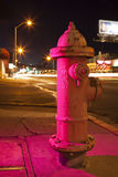 Hot Pink Fire Hydrant Royalty Free Stock Photo