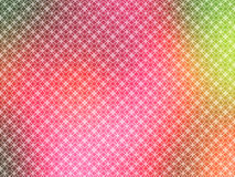 Hot Pink Green Yellow Wallpaper. An illustration of geometric background with pink blur background for use in website wallpaper design, presentation, desktop Stock Image