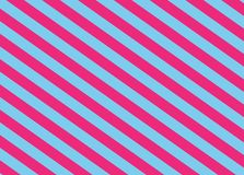 Hot Pink and Light Blue Diagonal Stripes. Hot Pink and Light Blue Diagonal Vector Stripes royalty free illustration