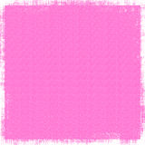 Hot Pink Linen Background. Vintage fine linen like textile fabric in striking hot pink for background designs Royalty Free Stock Images
