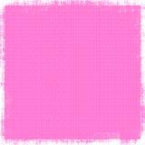 Hot Pink Linen Background. Vintage fine linen like textile fabric in striking hot pink for background designs royalty free illustration