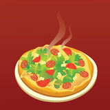 Hot Pizza Stock Image
