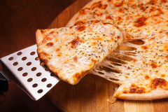 Hot Pizza Stock Photography