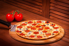Hot Pizza Stock Photography