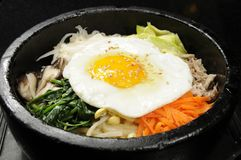 Hot pot Bibimbob Stock Images